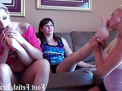BDSM Femdom Foot Fetish Lesbian