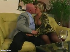 BBW Granny Hardcore Mature Stockings