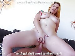Femdom Old and Young Redhead Threesome