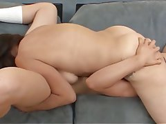 Brunette Cunnilingus Lesbian