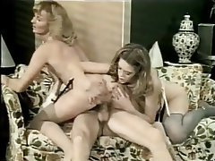 Blowjob, Threesome, Big Boobs, Vintage