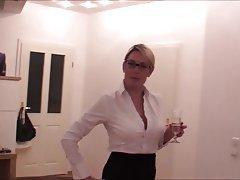 German Blonde Brunette Lesbian