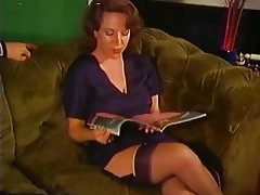 Cumshot MILF Old and Young Stockings