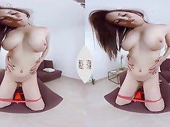 Asian Close Up Dildo Japanese Solo
