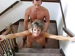 Big Boobs Blonde Granny Old and Young