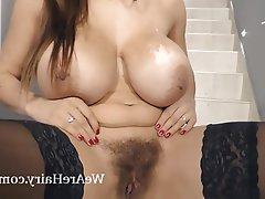 Big Boobs Czech Hairy Masturbation