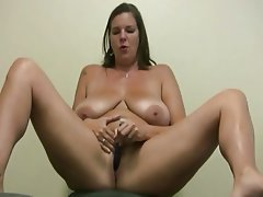 BBW Big Butts Dildo Solo Orgasm
