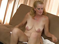 Blonde Granny Masturbation Mature