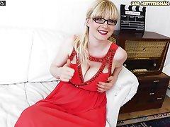 Blonde German Big Boobs Casting
