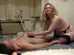 Amateur Blonde Blowjob MILF Babe