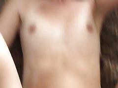 Cumshot Homemade Skinny Small Tits