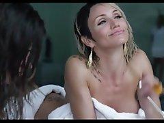 Brunette Celebrity Public Nipples