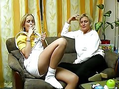 Amateur Blonde Dildo German Masturbation