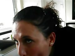 French Blowjob Cheating MILF