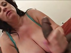 BBW Big Boobs Interracial Mature MILF