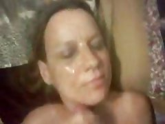 Amateur Blowjob Bukkake Facial POV