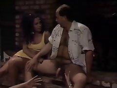 Cumshot, Facial, Pornstar, Threesome, Vintage