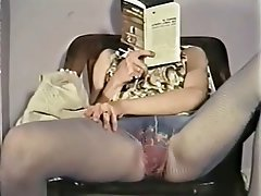 Hairy Lingerie Softcore Stockings Vintage