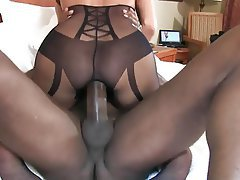 Interracial, Lingerie, MILF, Wife