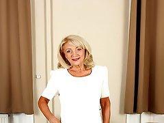 Blonde Granny Softcore