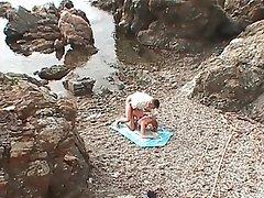 French Anal Beach Mature