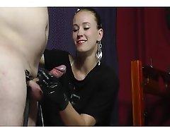 Amateur BDSM Cumshot Handjob