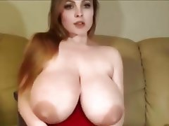 Big Boobs Dildo Saggy Tits Webcam