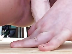 Amateur Close Up Dildo Homemade