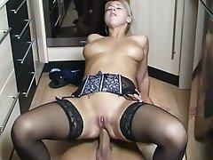 Anal, Blonde, German, Saggy Tits, Fucking