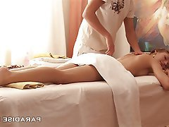 Cum in mouth Massage Russian Skinny Teen