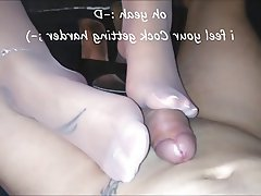 Foot Fetish Footjob High Heels Pantyhose
