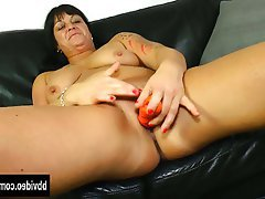 Big Boobs Brunette German Masturbation MILF