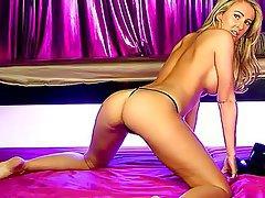 British Babe Big Boobs Blonde