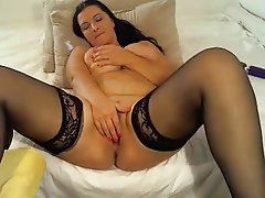 Dildo Masturbation Mature Saggy Tits Big Tits