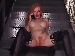 British Big Boobs Redhead Skinny Webcam