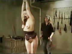 Hardcore BDSM MILF Spanking Bondage