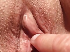 French Amateur Massage Pussy