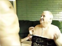 BBW Blowjob Granny Chubby Sucking