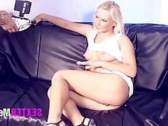 Blowjob Blonde Casting German Hardcore