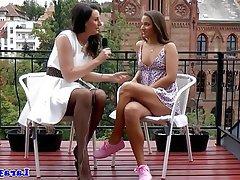 Lesbian Mature Stockings