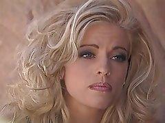 Babe Blonde Bukkake Threesome