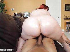 BBW Big Butts Redhead Big Booty
