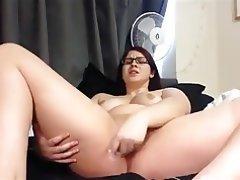 BBW Masturbation Orgasm Babe