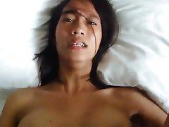Homemade Asian POV Creampie Amateur