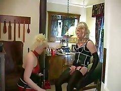 Sissy Bus BDSM Femdom Strapon
