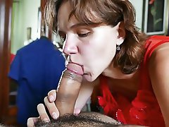 Amateur Blowjob Cum in mouth Russian Wife