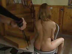 Babe BDSM Spanking