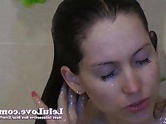 Amateur Brunette Close Up
