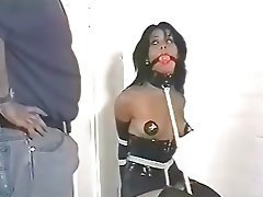 Babe, Vintage, BDSM, Interracial