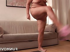 Amateur German Mature Redhead Granny